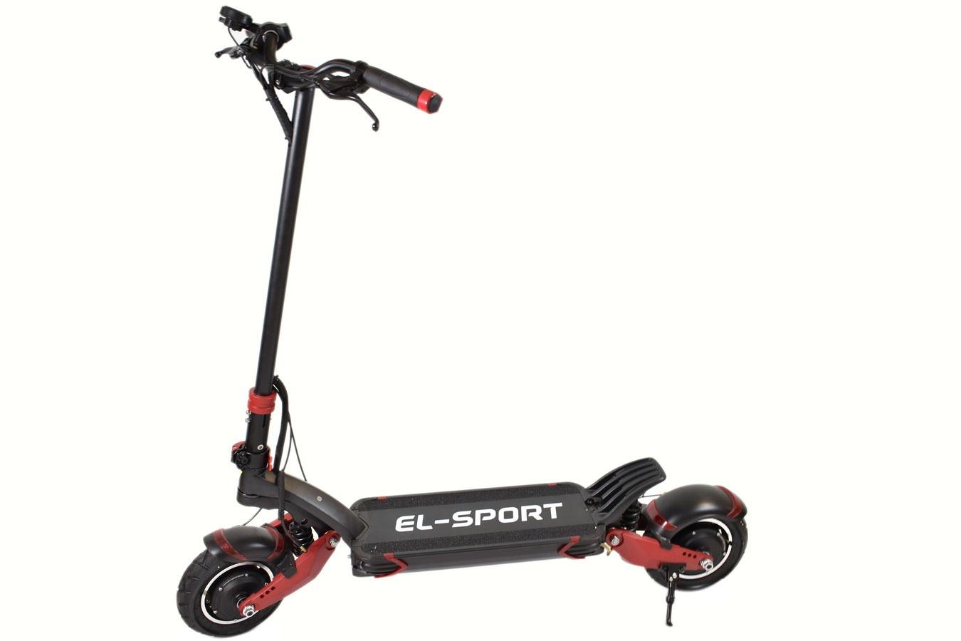 Электросамокат El-Sport T10-DDM фото
